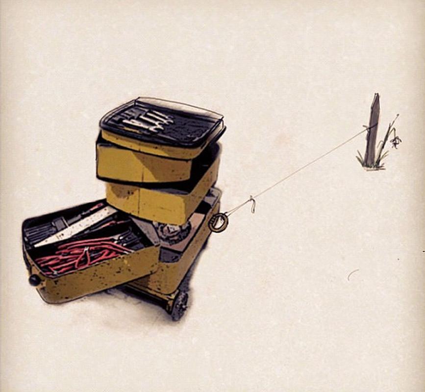 yellow cart bound